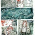 "© Sophie Blackhall-Cain - Page 1 of ""Colleen"" illustrated as a comic"