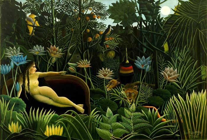 Henri Rousseau: The Dream (1910) - CC Wikimedia Commons